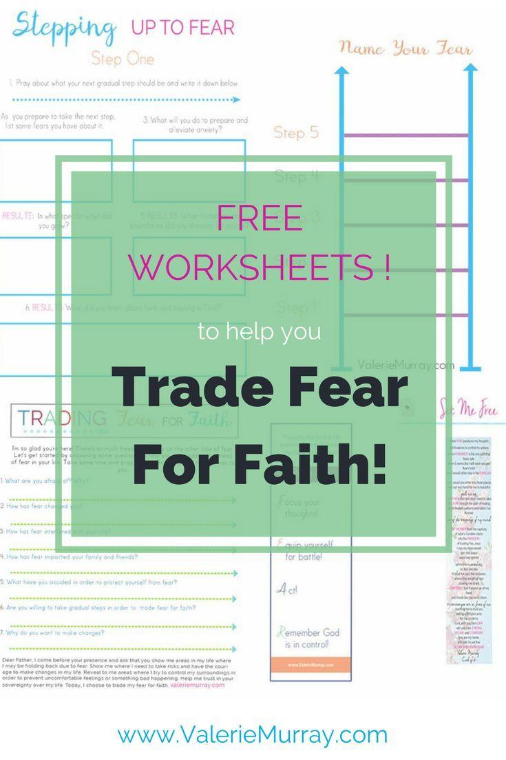 Facing Fear With Faith Crafts
