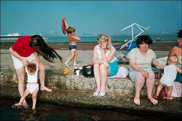 Martin Parr was accused of exploiting the working class with his portrayal of New Brighton in 1986, but he said he was just picturing what he saw.