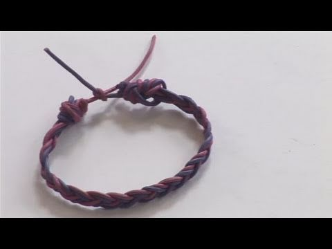 Watch How To Make An Impressive String Bracelet from the pioneers of how to videos. This advice video will give you helpful instructions to make sure you get good at jewellery making.