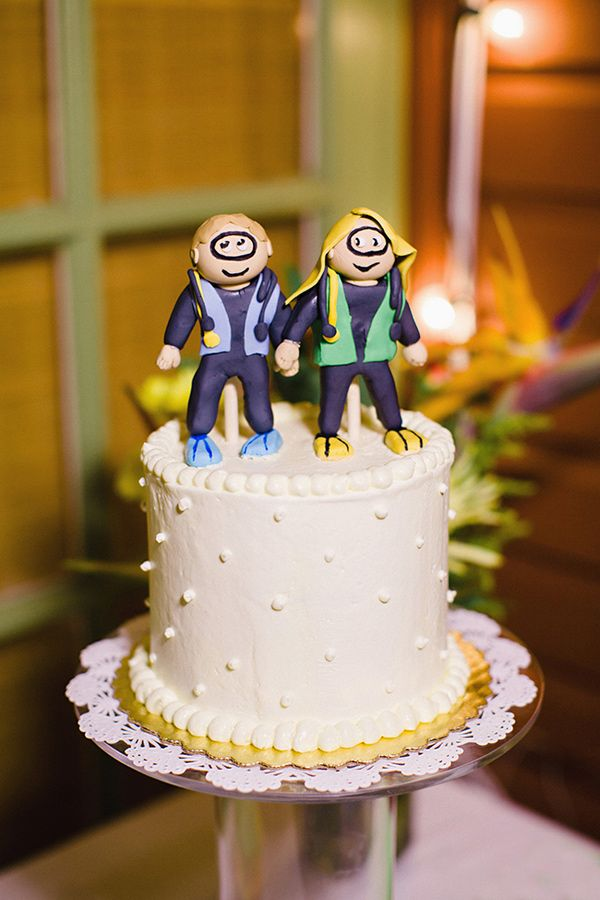 Scuba Diving Cake Toppers