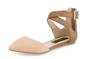 Not pumps, but would be cute for the wedding. and closed-toe shoes! The Best Flats for the Office | Nude and Neutral Shoes for Women!