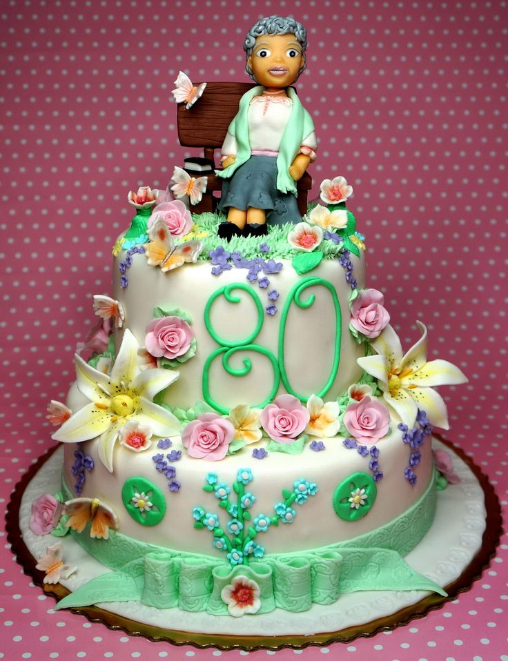 1000 Ideas About 80th Birthday Cakes On Pinterest 90th