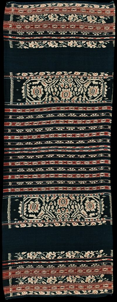 Ikat sarong from Savu, Savu Group, Indonesia