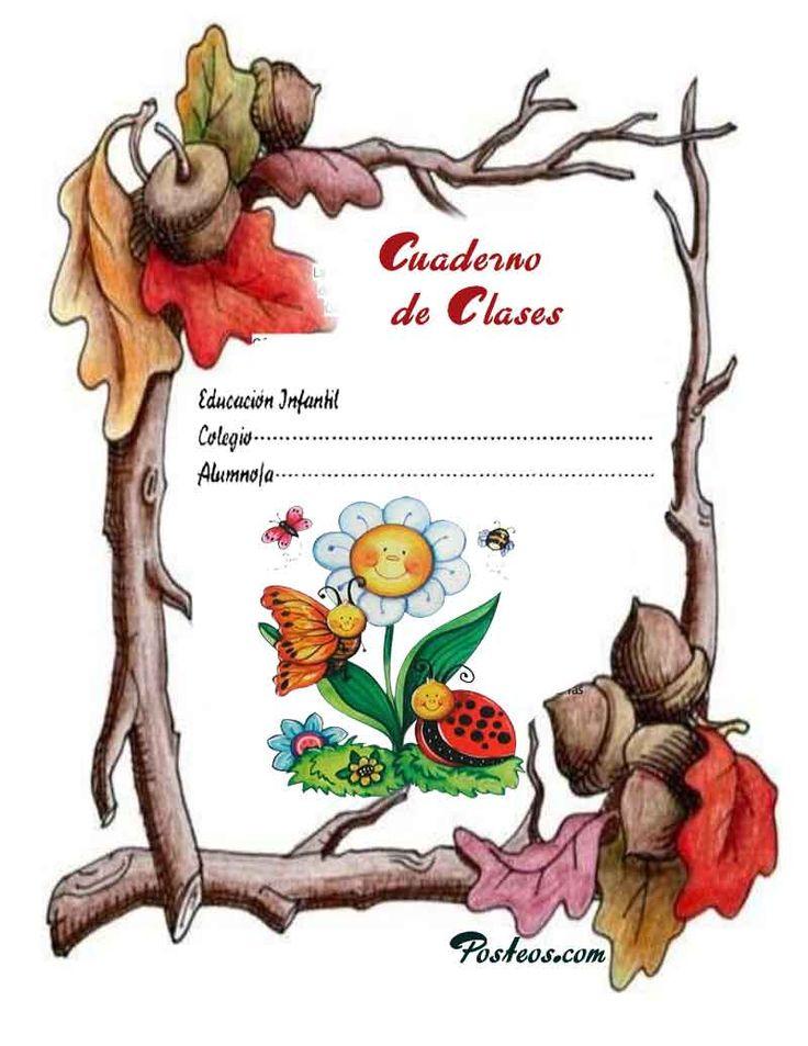 caratulas-color-cuadernos-escolares-infantiles-dibujos-para-imprimir-1 – Imagenes.Pw