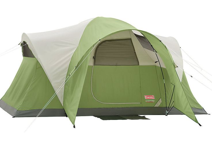 Outdoor C&ing Tent 6 Person Backyard Hiking Family Gear Cabin Dome Coleman New #Coleman  sc 1 st  Pinterest & 7 best Summer Stuff images on Pinterest | Bazaars Budget and Cards