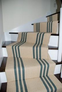 stair runner  Woodard & Greenstein flat weave runner  http://www.colonyrug.com/