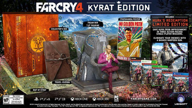 """[ RICARDO ELETRO ] Far Cry 4 - Edição Limitada """"Kyrat"""" - Xbox One - R$ 132,90 + Fretinho"""