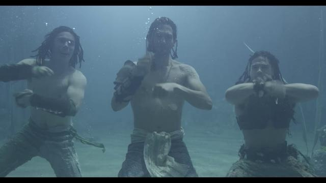 THE GREAT UNDERWATER DANCE OFF. by Realm Pictures. The Dive Team v's the Cast of 149BC