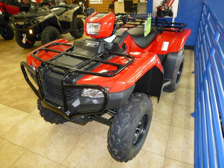 New 2016 Honda FourTrax® Foreman® 4x4 Power Steering ATVs For Sale in Florida. as low as $144/MONTH* The ATV that gets the job done. You probably have a go-to person in your life—someone that you can count on in a pinch, the one you can count on when you need something done, done right, done now, and done without excuses. On the jobsite or the shop floor, it's probably the shop foreman. And in the world of all-terrain vehicles that's the Honda Foreman. The Honda FourTrax® Foreman®…