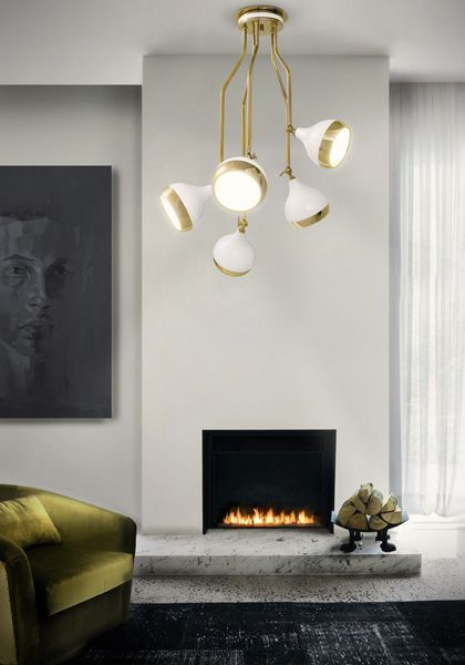 7 best Luminaires images on Pinterest Light fixtures, Ceiling lamp - porte coulissante fixation plafond