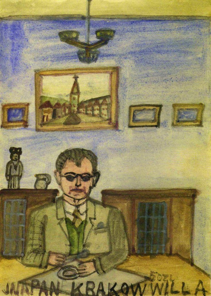 Portrait of Andrzej Banach