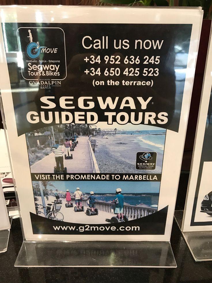 Este año también estaremos en el Gran hotel Guadalpin de Puerto Banús. Os esperamos esta Semana Santa en nuestra ubicación para disfrutar de #segway tours y, en plena libertad, de un paseo en bicicleta. #ibikemarbella #g2move #smilemakers