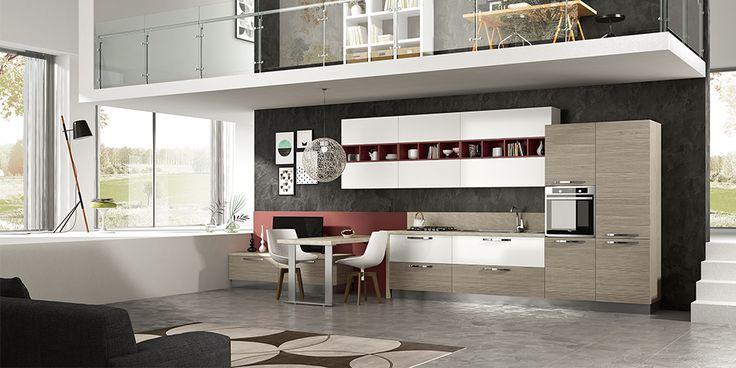 Oltre 1000 idee su cucine in legno bianco su pinterest - Cucine 1000 euro ...