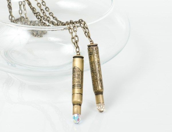 How to make etched bullet casing jewelry – Recycled Crafts