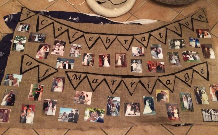 Celebration of marriage #wedding #vintage #love #homemade #hessian