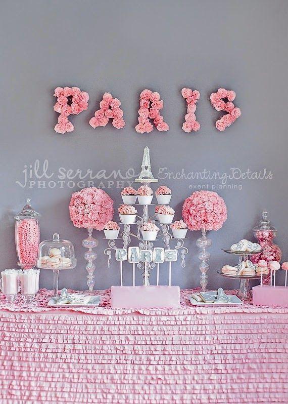 COISINHAS DA ANA: Tema Paris Mais