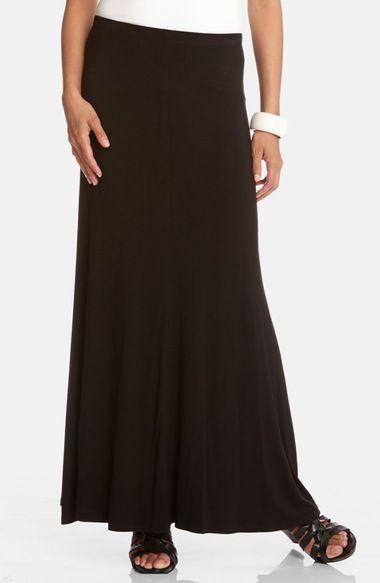 Karen Kane Flared Maxi Skirt available at #Nordstrom