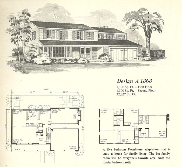 vintage house plans farmhouses - Vintage Farmhouse Plans