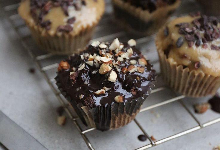 Ferrero Rocher Style Muffins