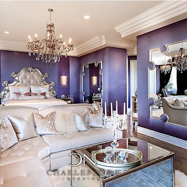 Top 25+ Best Purple Walls Ideas On Pinterest