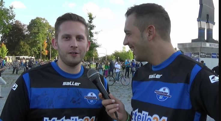 Wonder what was asked here! #9ineSports @Paderborn07