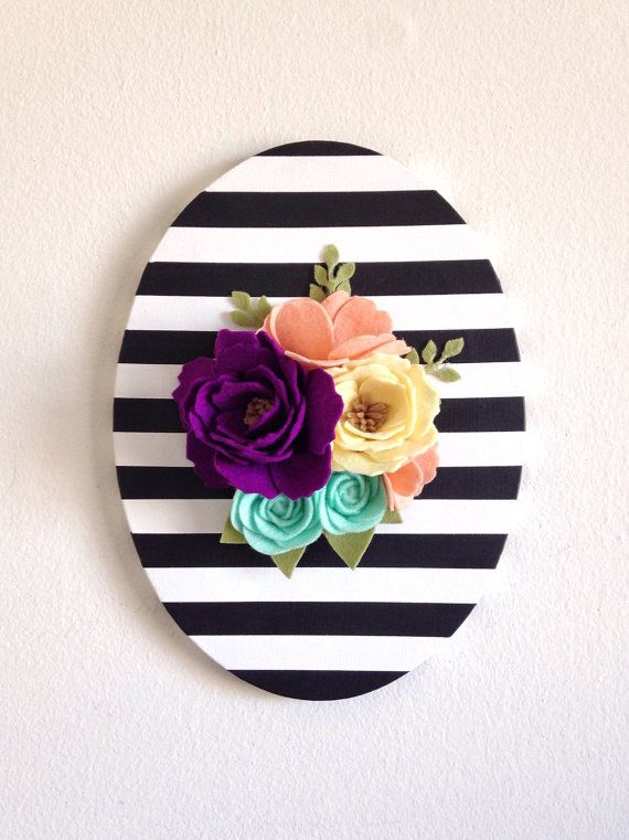 Pinterest Wall Decor Flowers : Best ideas about flower wall decor on