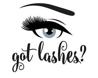 Lashes decal, got lashes, hair salon decal, eye sticker, lashes wall decal, got lashes decal, sign for salon, hair salon decal, eye makeup #lashesquotes #lashesextensions
