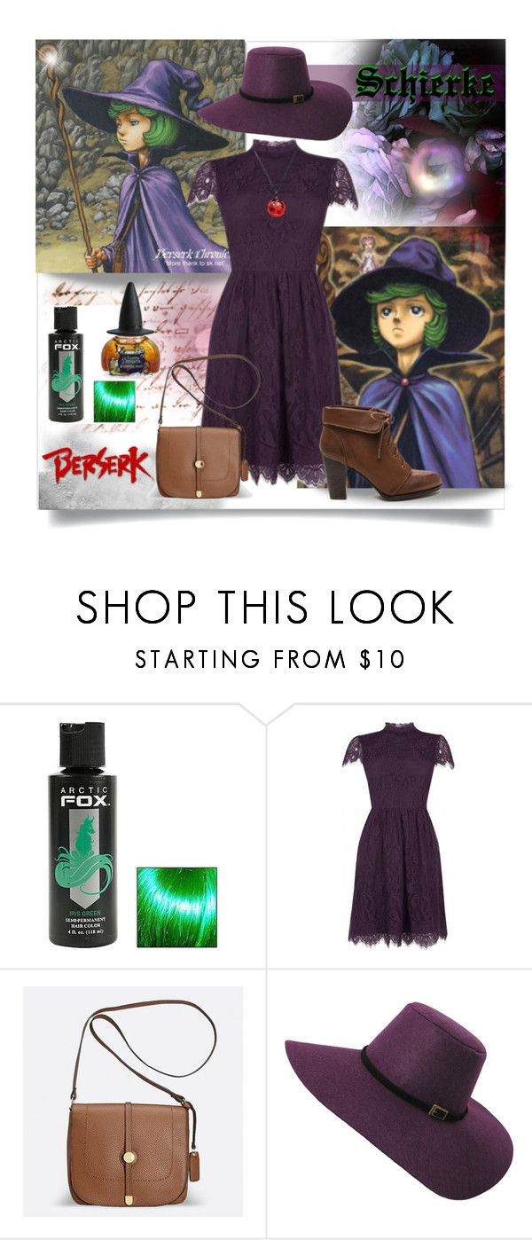 """SCHIERKE"" by marielecastan ❤ liked on Polyvore featuring Hot Topic, Hechizo, Avenue, anime, witch, manga and Berserk"