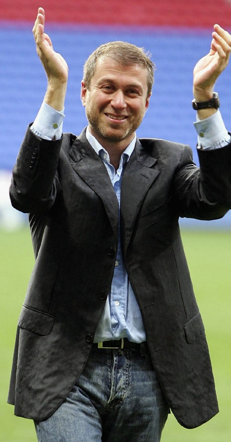 Roman Abramovich because he started Chelsea's world domination