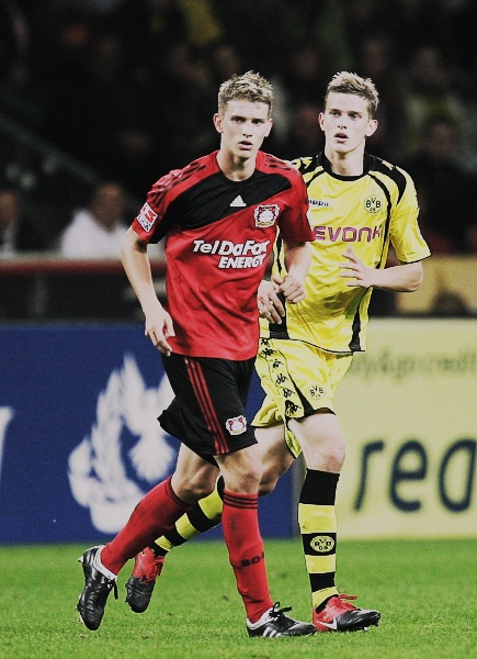 The German twins Lars and Sven Bender. They are great football players and both extremely gorgeous!