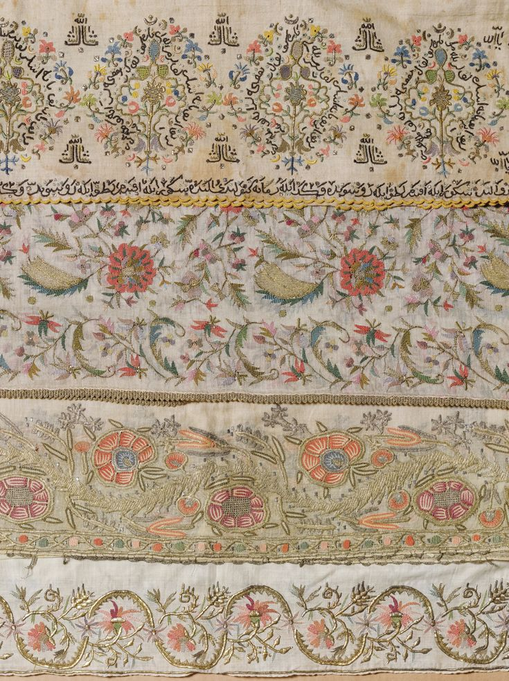 'Stems & Leaves' A Group of Ottoman Towels and Embroideries | lot | Sotheby's