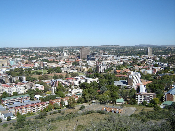 Bloemfontein: judicial capital of South African and a lot of fun.