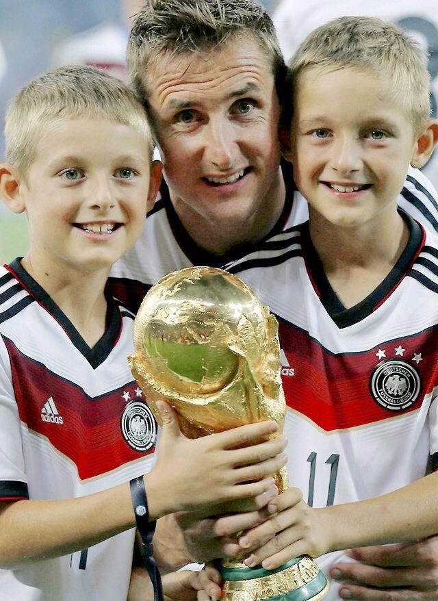 Miro, Luan and Noah Klose #footballislife #OneNightInRio