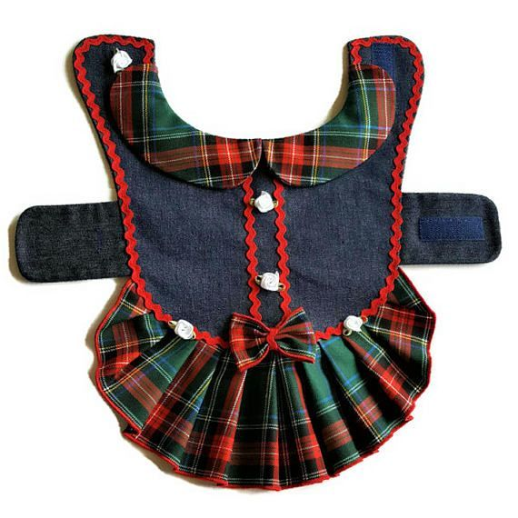 Dog clothes pattern, PDF girl dog clothes, Small dog pattern dress, dog clothes small, PDF dog clothes ,Small dog clothes, Pattern pet clothes, Language English Size XS: Measurements, Dimensions no. 2 photo neck ~ 9-10/24-26cm chest girth ~ 12/30cm length ~ 9/23cm This listing #DogClothes
