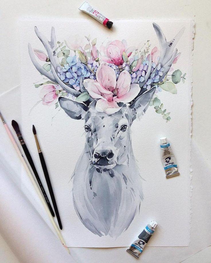 рисунки для вдохновения акварелью