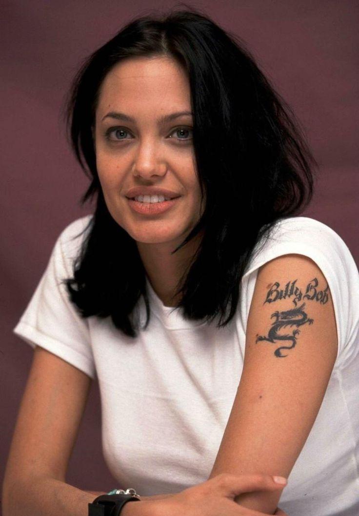 Angelina jolie bob haircut google s k hair pinterest for Texas bobs tattoos