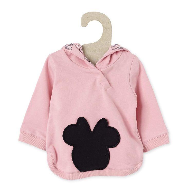 Felpa tessuto felpato 'Minnie Mouse' Neonata - Kiabi - 15,00€