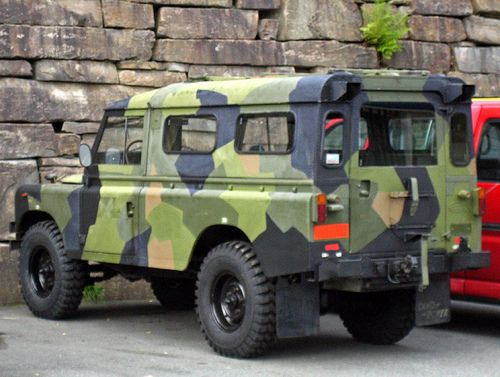 norwegian army landrover land rover pinterest nice. Black Bedroom Furniture Sets. Home Design Ideas