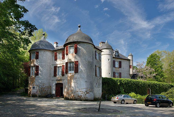 Castillo de Urtubie. Urrugne. Iparralde. Chateau d' Urtubie . Urrugne. French Basque Country. © Inaki Caperochipi Photography