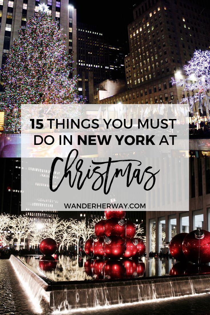 The ultimate New York at Christmas bucket list! If…