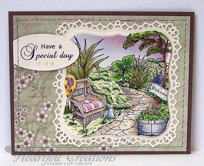 Heartfelt Creations | Special Day In The Garden