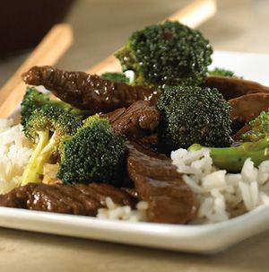 Beef Teriyaki is your go-to recipe when you want something flavorful, filling and fresh. It features beef strips and tender-crisp broccoli in a soy and garlic-flavored sauce. What a great way to get them to eat their vegetables!