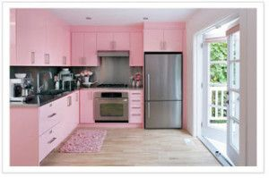Today you can have a kitchen in any color, in any hue