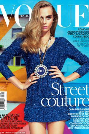 Cara Delevigne - Vogue cover 2014