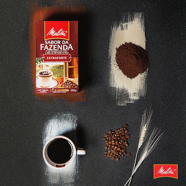Não tem nada melhor que o cheirinho de um café moído e passado na hora. Com a linha Sabor da Fazenda, você pode desfrutar de todo esse aroma e sabor em casa... Como se estivesse na fazenda. ☕️🌾