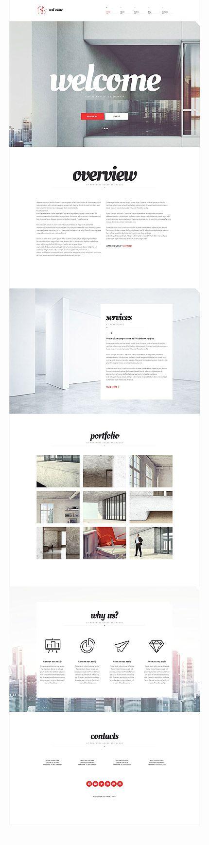 Template 54654 - Real Estate Responsive WordPress Theme