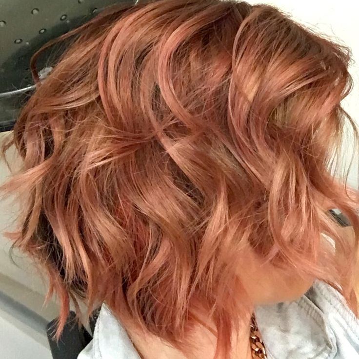 Rose Gold Done With Keune Color Craving By Jennifer