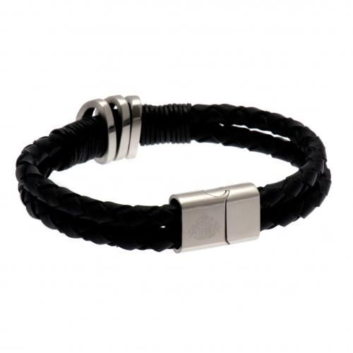 - leather bracelet- stainless steel clasp- approx 21cm in a gift box- official licensed product