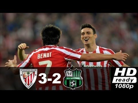 Athletic Bilbao vs Sassuolo 3 2 ● Highlights & All Goals ● Europa League...
