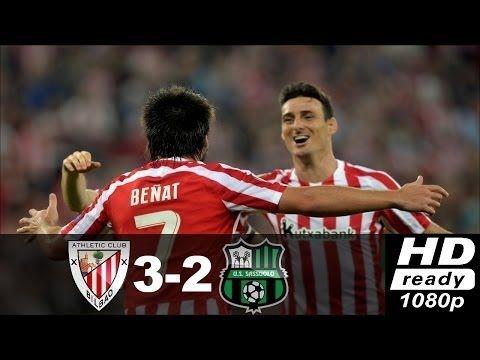Athletic Bilbao vs Sassuolo 3 2 ● Highlights & All Goals ● Europa League...